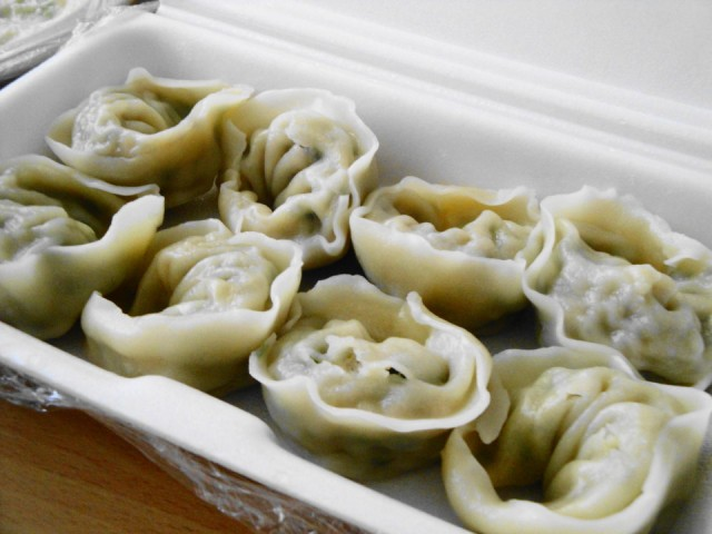 Korean Delivery Food Mandu 1