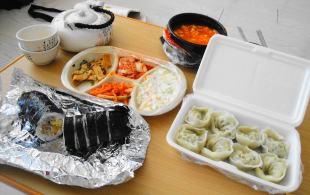 Korean Delivery Food Set