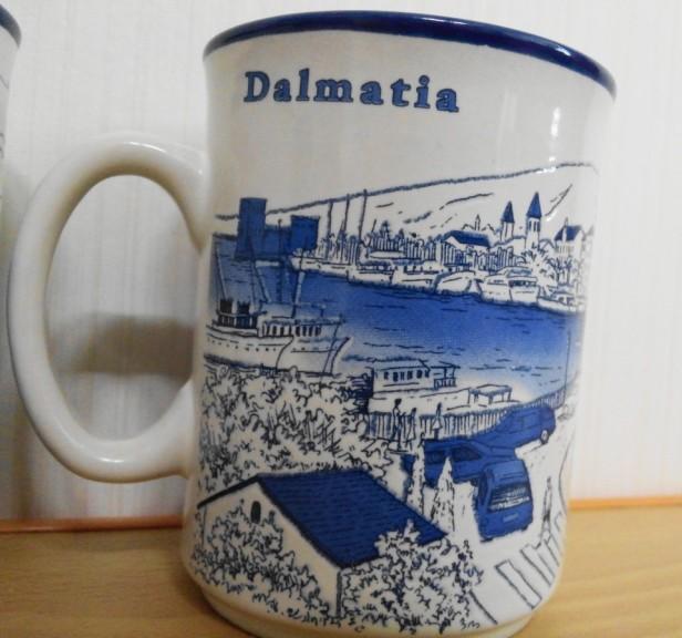 Croatian Diaso Mug Korea - Dalmatia