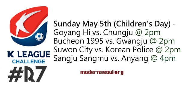 K League Challenge 2013 Round 7 May 5th