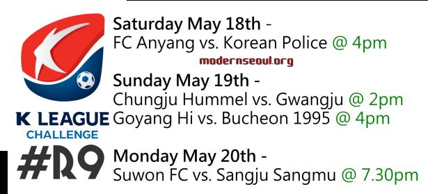 K League Challenge 2013 Round 9