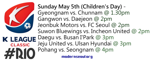 K League Classic 2013 Round 10 May 5th