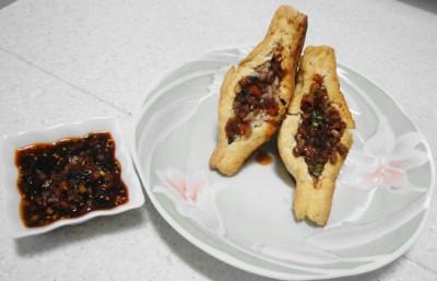 Tubu Bap (두부밥) - Korean Tofu Stuffed with Rice