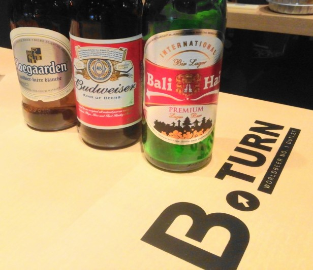 B-Turn Self Beer Bar - Beers