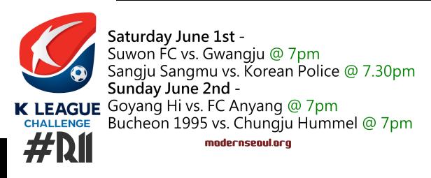 K League Challenge 2013 Round 11