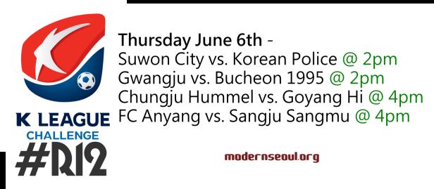 K League Challenge 2013 Round 12