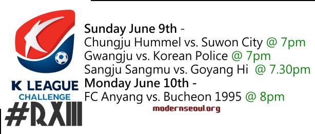 K League Challenge 2013 Round 13
