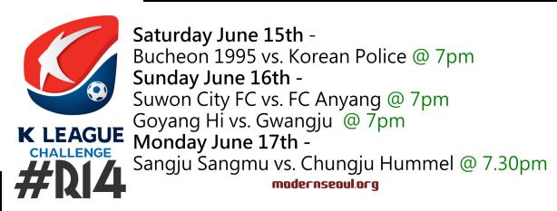 K League Challenge 2013 Round 14