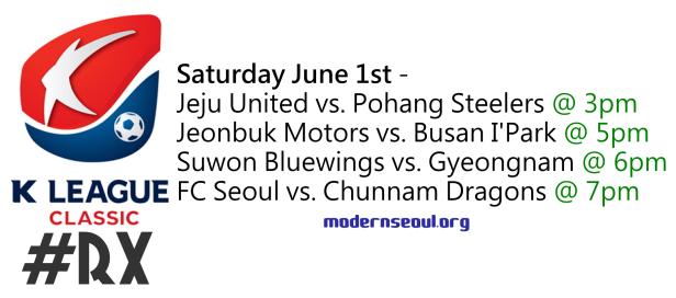 K League Classic 2013 Round X