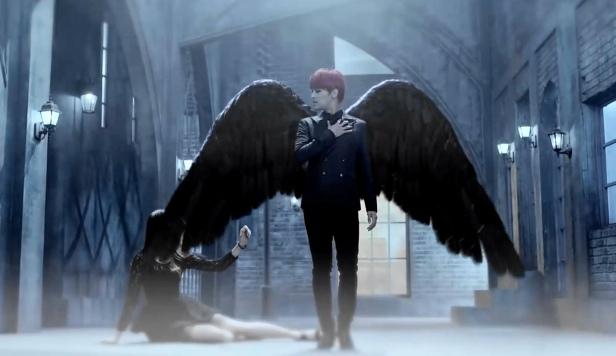 Vixx Hyde KPOP Black Wings