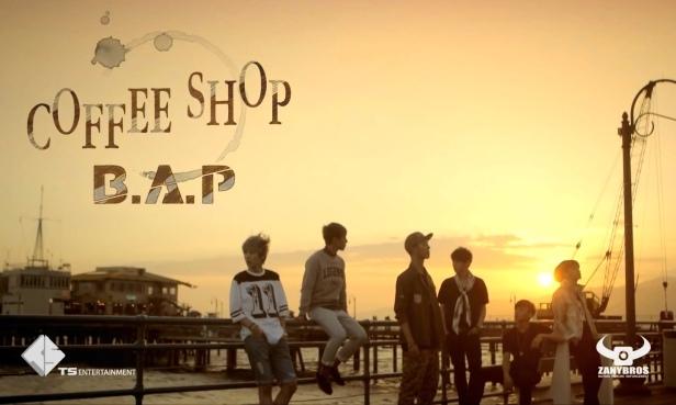 B.A.P Coffee Shop - banner