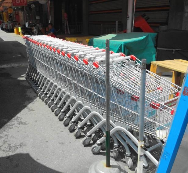 Gyesan Market Shopping Carts - Incheon