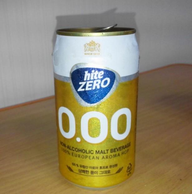 Hite Zero Can - Korean Non Alcoholic Beer 3