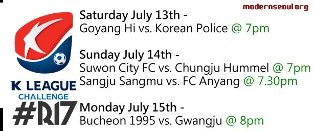 K League Challenge 2013 Round 17