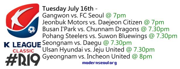K League Classic 2013 Round 19