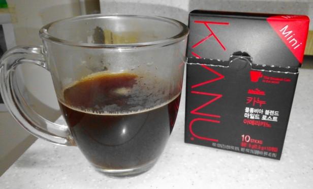 Kanu Black Coffee  Korean
