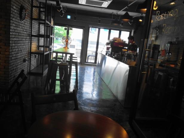 Zombie Coffee Hongdae Seoul - inside 2