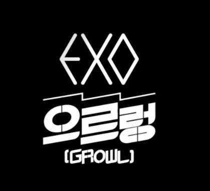 EXO Growl KPOP Banner