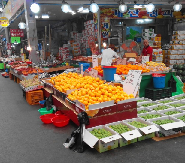 Gyesan Market, Incheon - Fruit 2