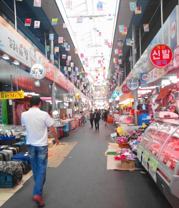 Gyesan Market, Incheon - Inside