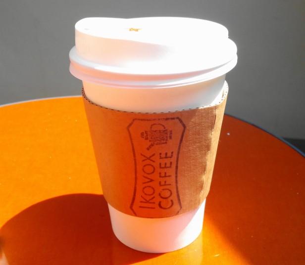 Ikovox Coffee Itaewon Seoul - Cup