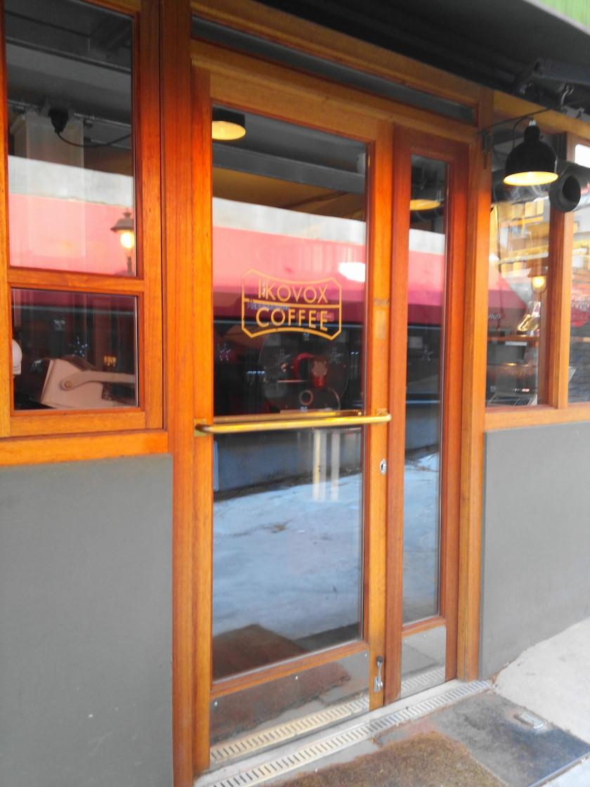 Ikovox Coffee Itaewon Seoul - Door & Freshly Roasted Coffee at Ikovox Coffee in Itaewon Seoul u2013 Modern Seoul