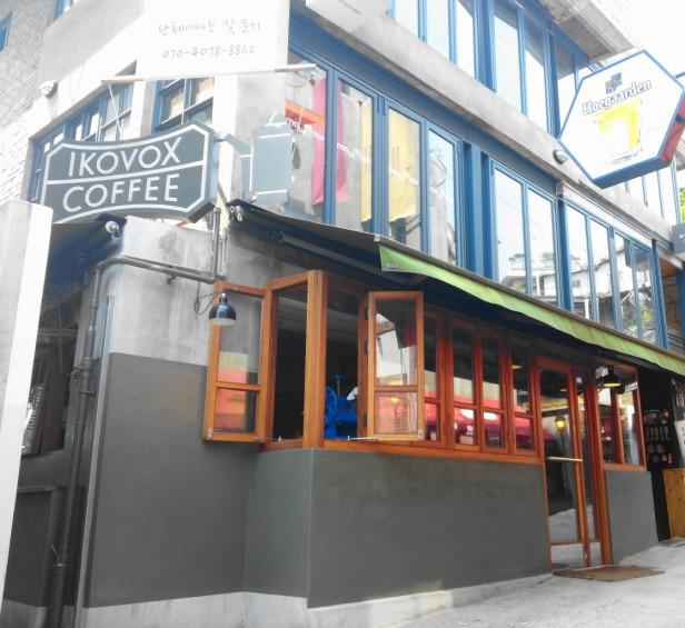 Ikovox Coffee Itaewon Seoul - Front