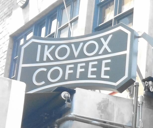Ikovox Coffee Itaewon Seoul - Sign