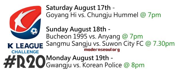 K League Challenge 2013 Round 20