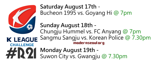 K League Challenge 2013 Round 21