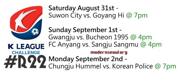 K League Challenge 2013 Round 22