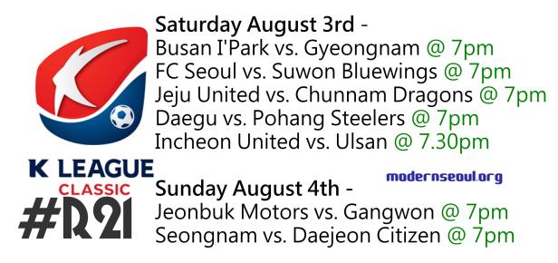 K League Classic 2013 Round 21
