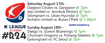 K League Classic 2013 Round 24