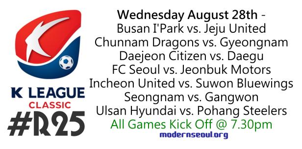 K League Classic 2013 Round 25