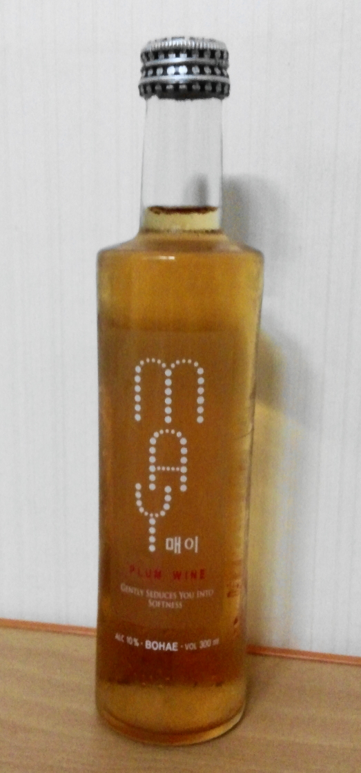May - Korean Plum Wine 1