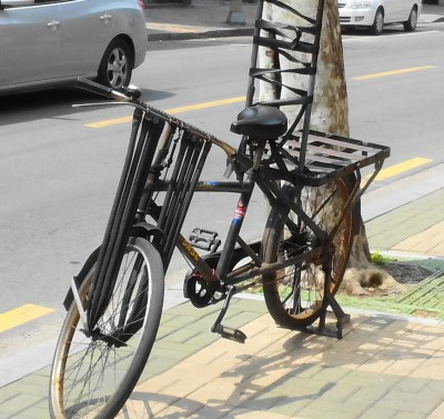 Old Bicycle in Seoul - Photo Wednesday