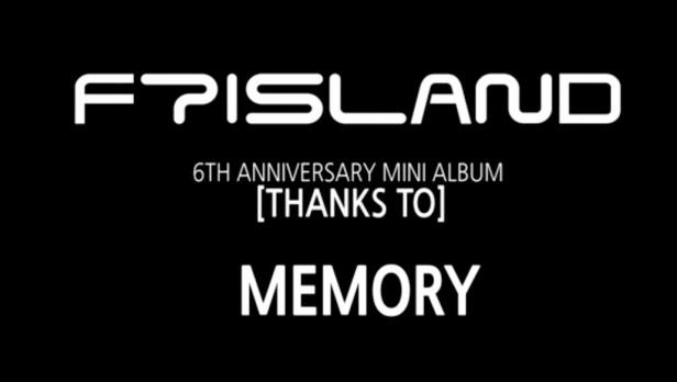 FTIsland Memory Banner