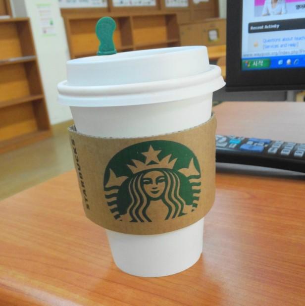 Hot Starbucks Coffee - Korea