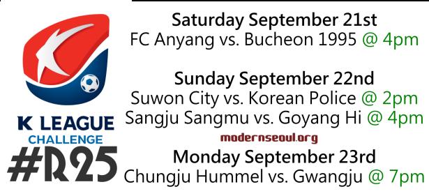 K League Challenge 2013 Round 25