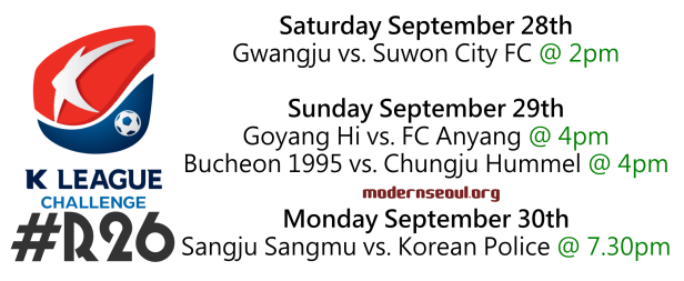 K League Challenge 2013 Round 26