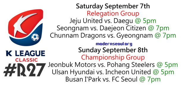 K League Classic 2013 Round 27