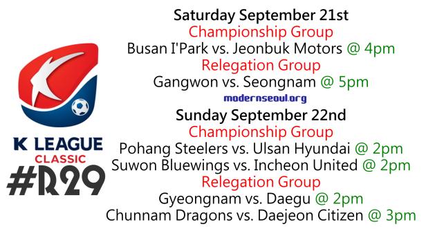 K League Classic 2013 Round 29 a
