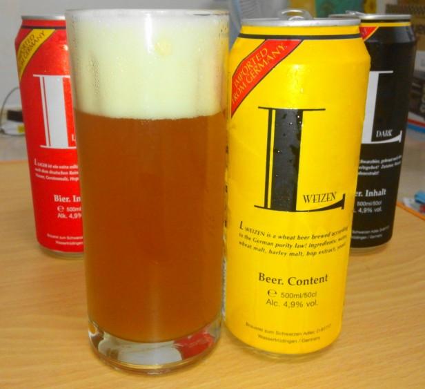 L Weizen German Beer