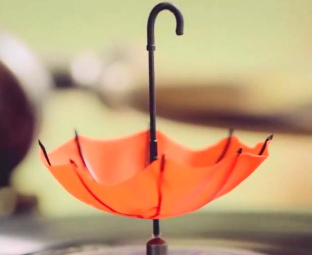 Lim Kim Rain upside down umbrella