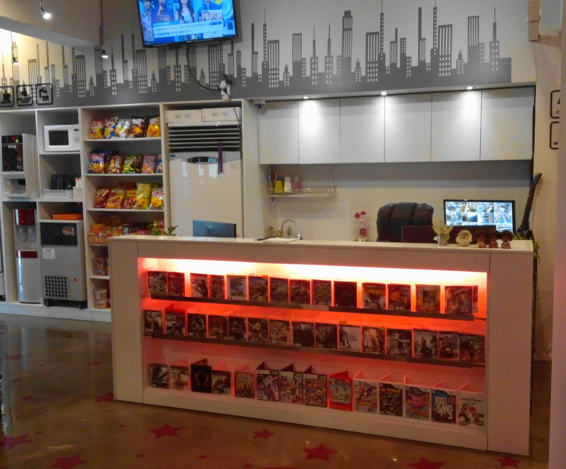 Pulsa bang korean playstation and video game room cafe for Big game room