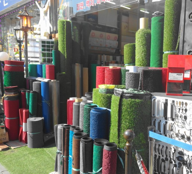 Astroturf Shop near Dongdaemun Seoul