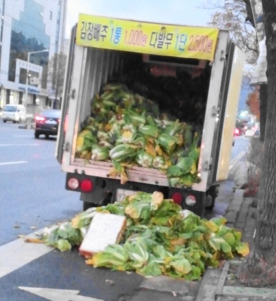 Cabbages from the Back of a Truck