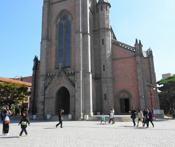 Myeongdong Cathedral in Seoul - 3