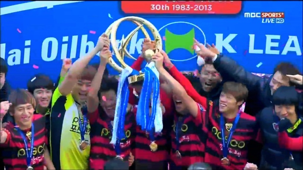 Pohang Steelers 2013 K League Classic Champions