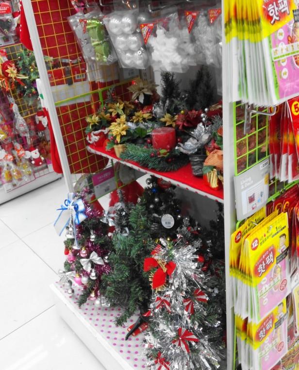 Christmas Trees - Daiso Korea